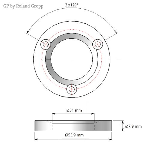 Mahlscheibensatz GP 542415